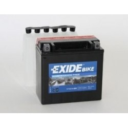 Batterie moto Exide YTX14-BS 12V 12AH