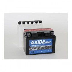 Batterie moto Exide YTZ14S 12V 12AH