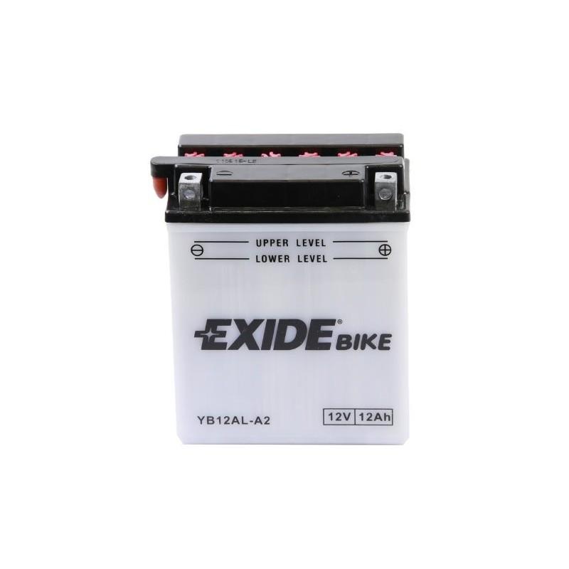 Batterie moto Exide YB12AL-A2 / 12v 12ah