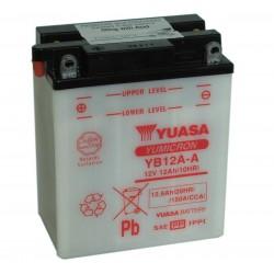 Batterie moto Yuasa YB12A-A 12V 12AH
