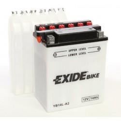 Batterie moto Exide YB14L-A2 / 12v 14ah