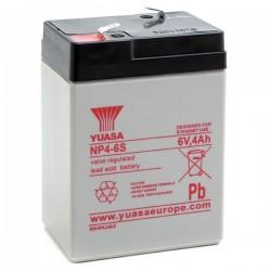 Batterie Yuasa NP4-6 6V 4AH