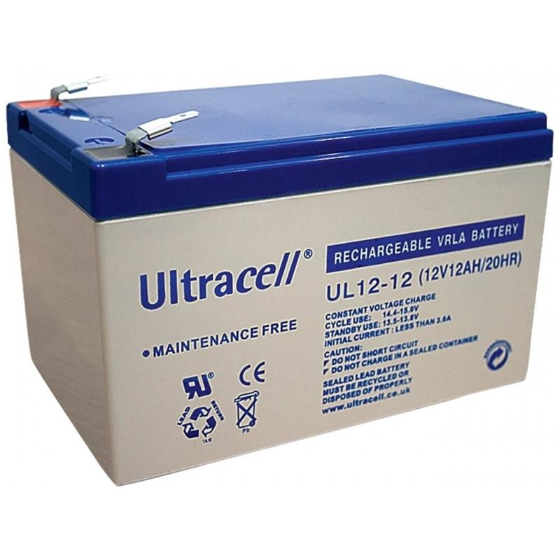 batterie ultracell ul12 12 12v 12ah. Black Bedroom Furniture Sets. Home Design Ideas