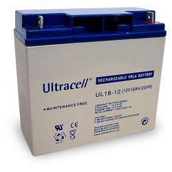 Batterie stationnaire AGM décharge lente 12V 18AH