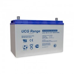 Batterie stationnaire GEL décharge lente 12V 100AH