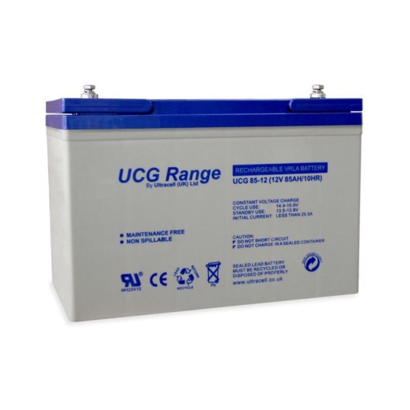 batterie gel ultracell ucg85 12 12v 85ah. Black Bedroom Furniture Sets. Home Design Ideas
