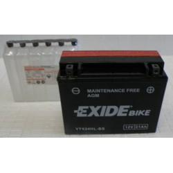 Batterie moto Exide YTX24HL-BS 12V 21AH