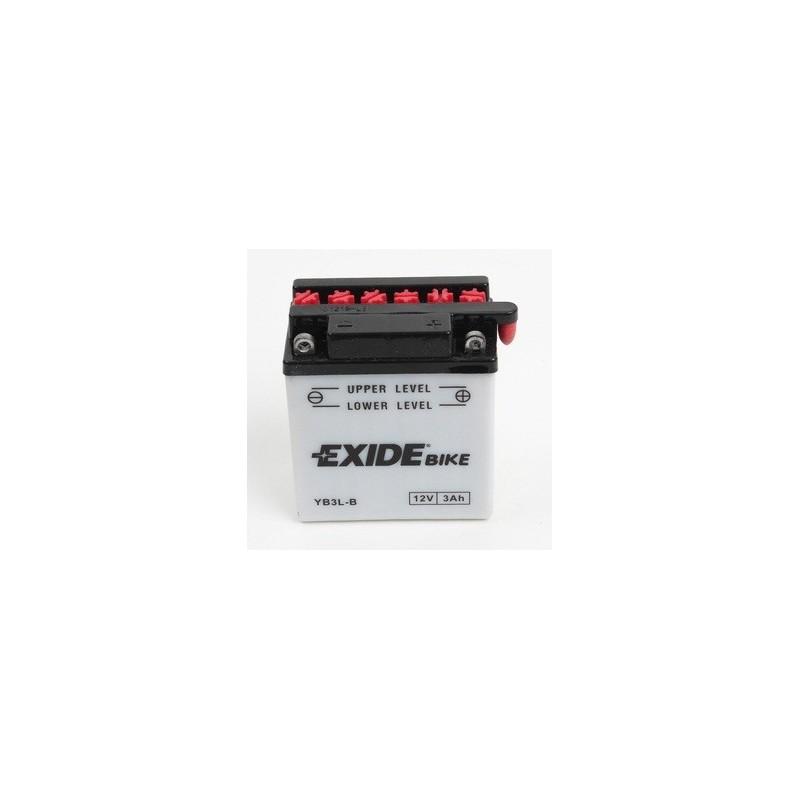 Batterie moto Exide YB3L-B 12V 3AH