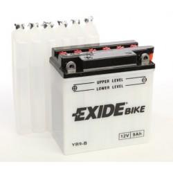 Batterie moto Exide YB9-B 12V 9AH