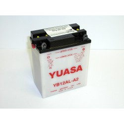 Batterie moto Yuasa YB12AL-A2 12V 12AH