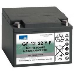 Batterie Sonnenschein Gel 12V 24Ah GF 12 22 YF