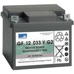 Batterie Sonnenschein Gel 12V 38Ah GF 12 33 YG2