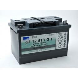 Batterie Sonnenschein Gel 12V 56Ah GF 12 51 YG1