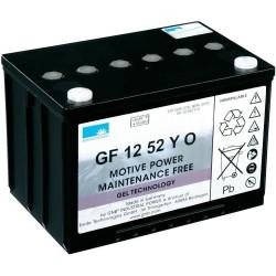 Batterie Sonnenschein Gel 12V 60Ah GF 12 52 YO