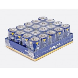 Boite de 20 Piles VARTA LR20 / D 1,5 Volts