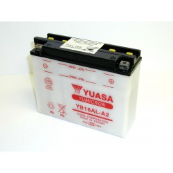 Batterie moto Yuasa YB16AL-A2 12V 16AH