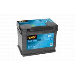 Batterie Fulmen FK600 12V 60AH 680A