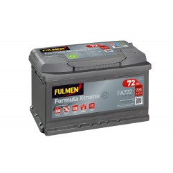 Batterie Fulmen FA722 12V 72AH 720A