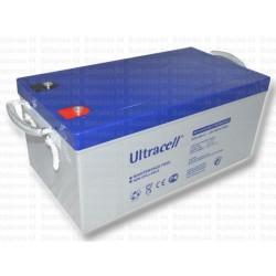 Batterie stationnaire GEL décharge lente 12V 250AH