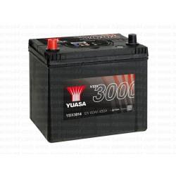 Batterie Yuasa YBX3014 12V 60AH 450A
