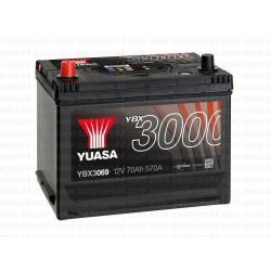 Batterie démarrage Yuasa YBX3069 12V 70AH 570A