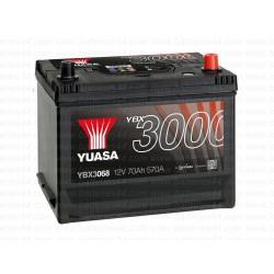 Batterie démarrage Yuasa YBX3068 12V 70AH 570A
