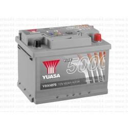 Batterie Yuasa YBX5075 12V 60AH 620A