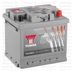 Batterie Yuasa YBX5012 12V 52AH 480A