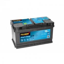 Batterie Fulmen FL752 12V 75AH 720A