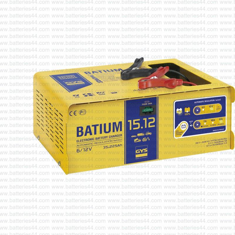 Chargeur automatique GYS Batium 15-12