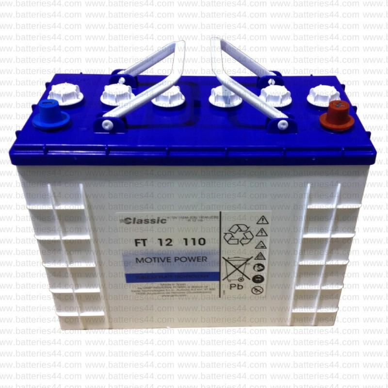 Batterie traction EXIDE FT12-110 12V 132AH