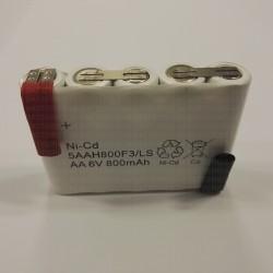 Batterie Alarme Bloc-sécurité 6V 0.8AH