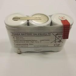 Batterie Alarme Bloc-sécurité 3,6V 4.0AH