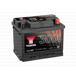 Batterie Yuasa YBX3027 12V 60AH 550A