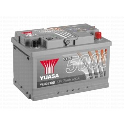 Batterie Yuasa YBX5100 12V 75AH 680A