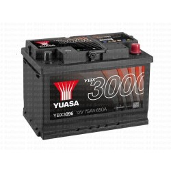 Batterie Yuasa YBX3096 12V 75AH 650A