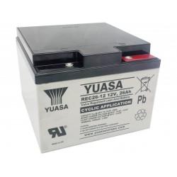 Batterie Yuasa REC26-12 12V 26AH
