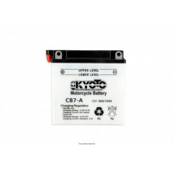 Batterie moto Kyoto YB7-A 12V 8AH
