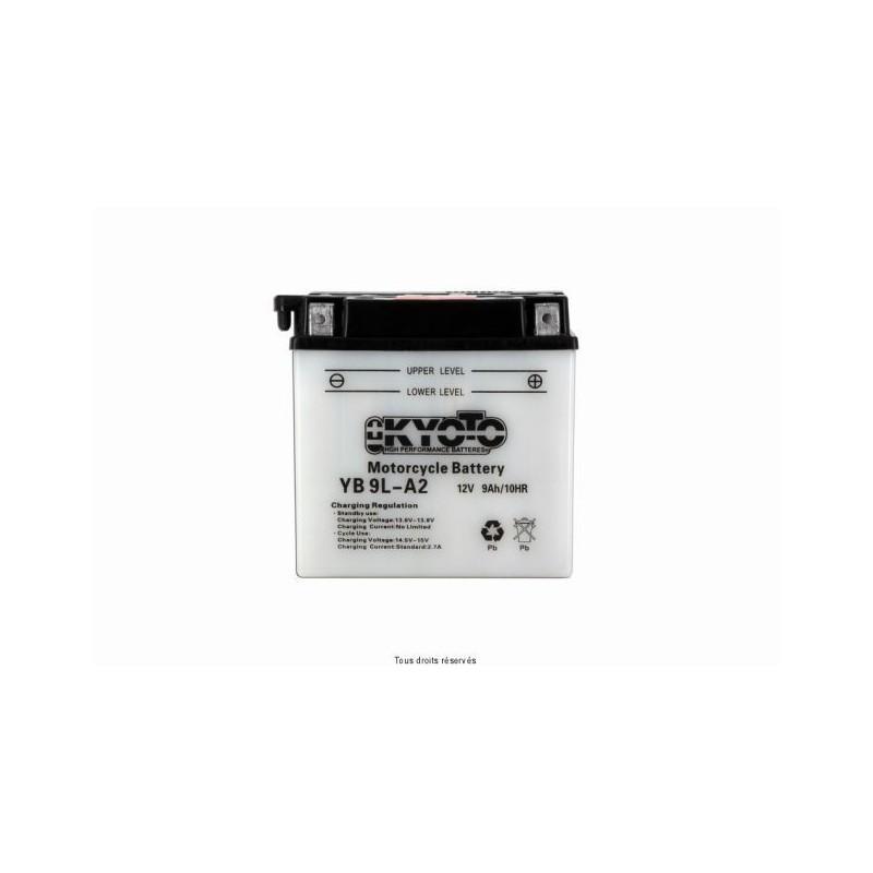 Batterie moto Kyoto YB9L-A2 12V 9AH