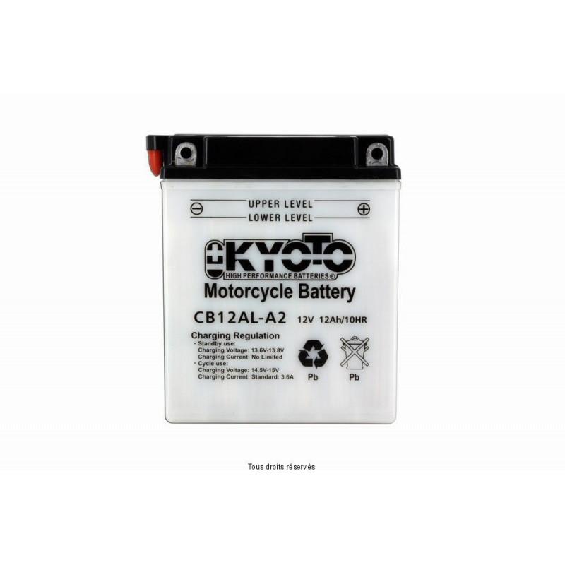 Batterie moto Kyoto YB12AL-A2 12V 12AH