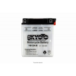 Batterie moto Kyoto YB12A-B 12V 12AH