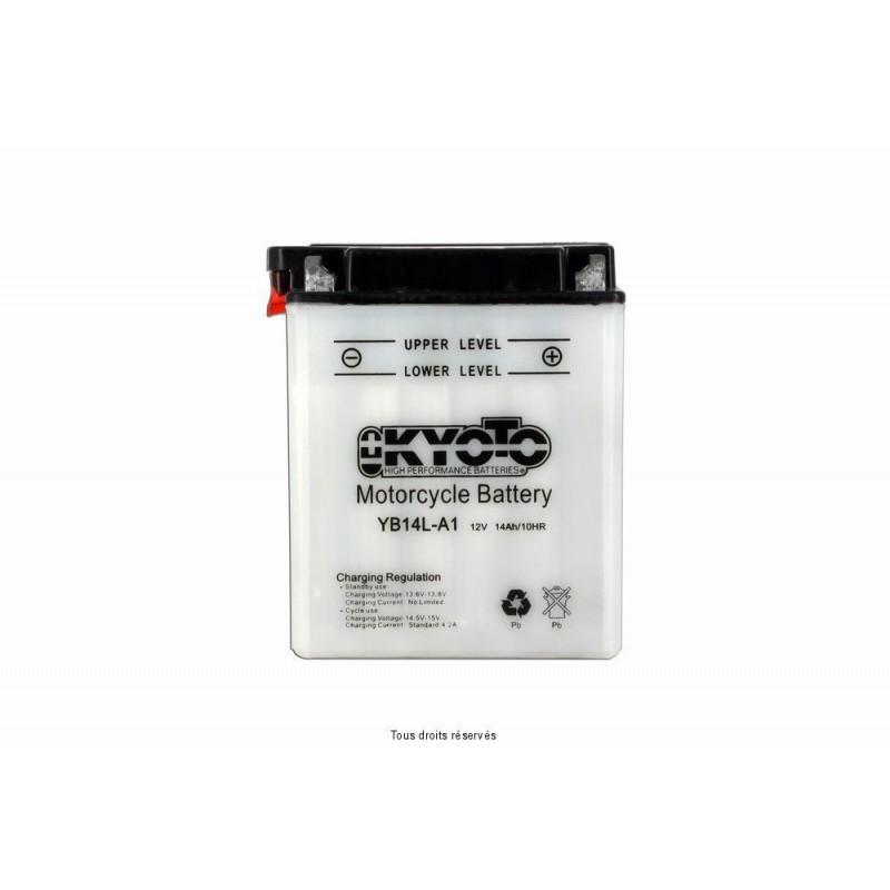 Batterie moto Kyoto YB14L-A1 12V 14AH