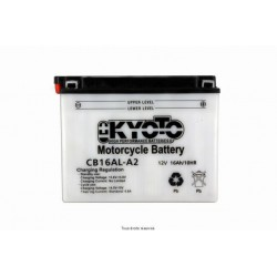 Batterie moto Kyoto YB16AL-A2 12V 16AH