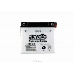 Batterie moto Kyoto YB16-B 12V 19AH
