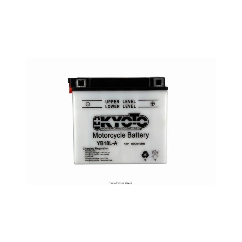 Batterie moto Kyoto YB18L-A 12V 18AH