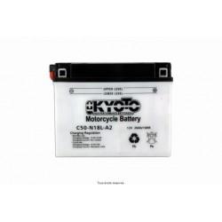 Batterie moto Kyoto Y50-N18L-A 12V 20AH