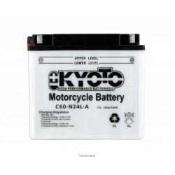 Batterie moto Kyoto Y60-N24L-A 12V 28AH