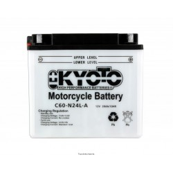 Batterie moto Kyoto Y60-N24AL-B 12V 28AH