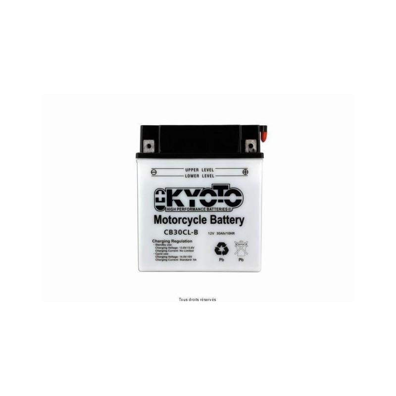 Batterie moto Kyoto YB30CL-B 12V 30AH