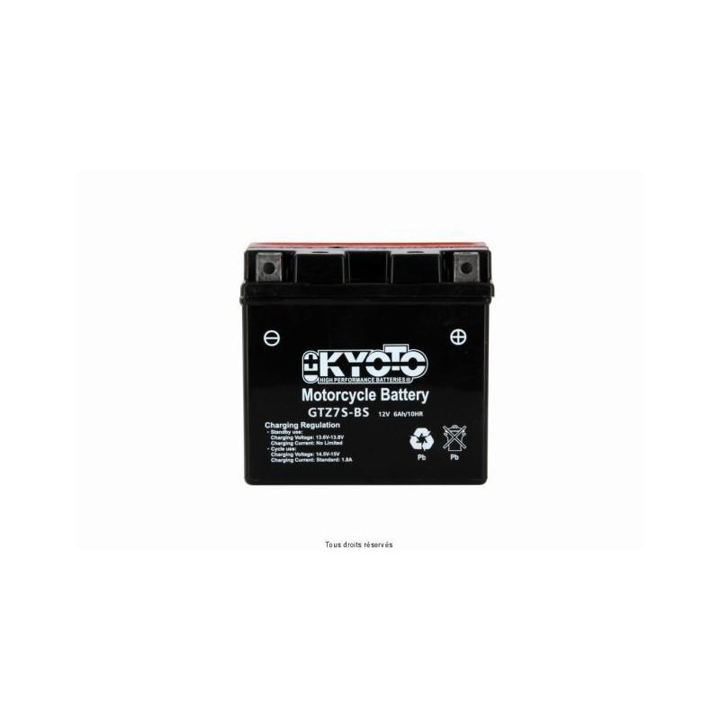 Batterie moto Kyoto YTZ7S 12V 6AH